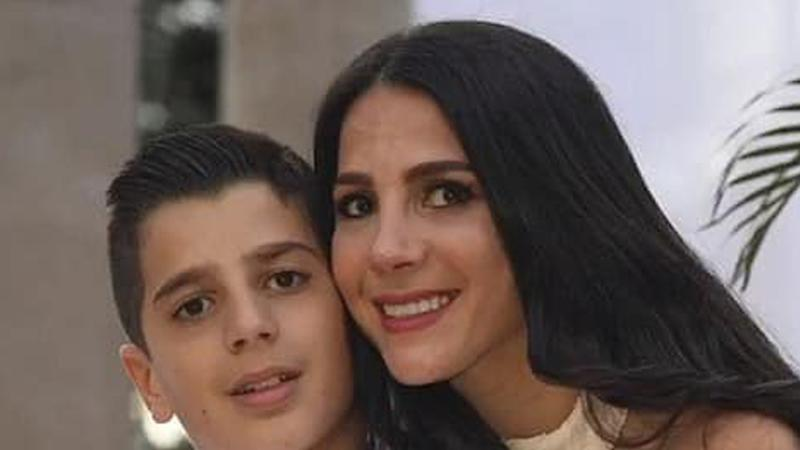 Antony Abdallah (left) and his mother, Leila GeageaAbdallah (right).