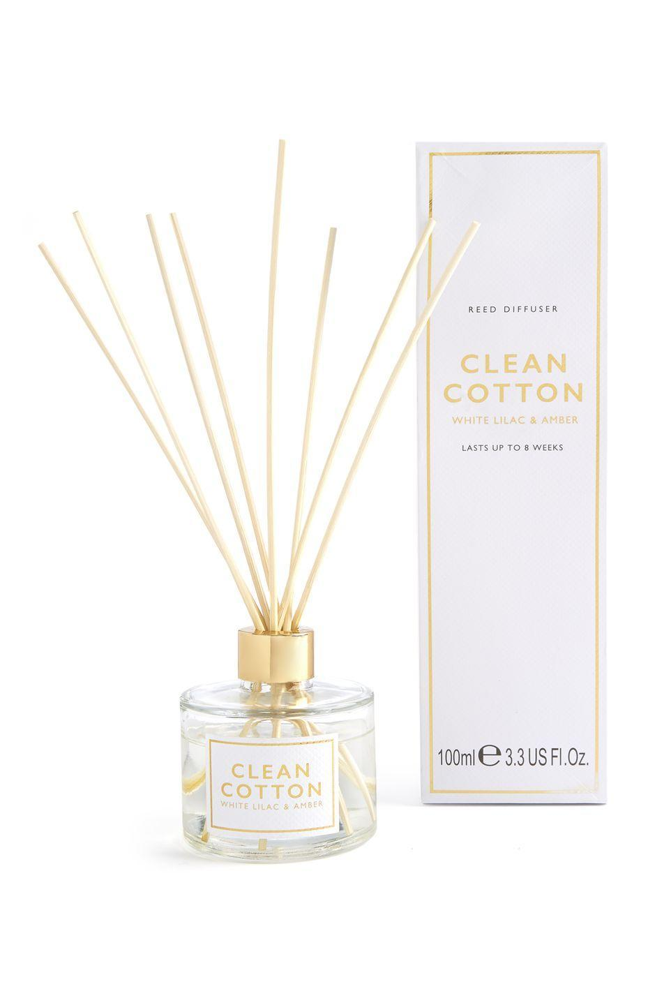 <p>Clean cotton reed diffuser, price unknown</p>