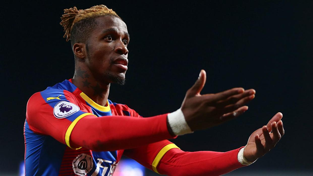 Borussia Dortmund are keen to sign Crystal Palace winger Wilfried Zaha for a club-record transfer in the summer