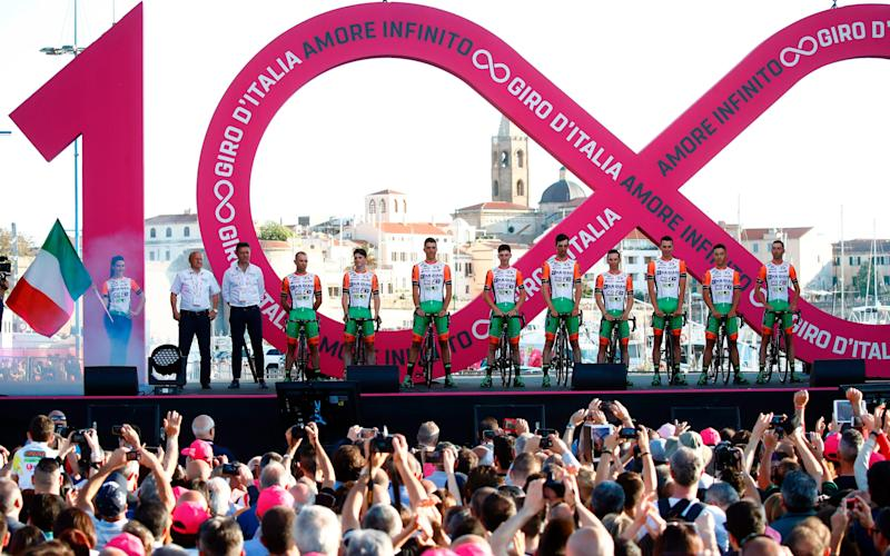 Giro d'Italia 2017: Final start list and team details after Stefano Pirazzi and Nicola Ruffoni are suspended for doping violations - Credit: Getty Images