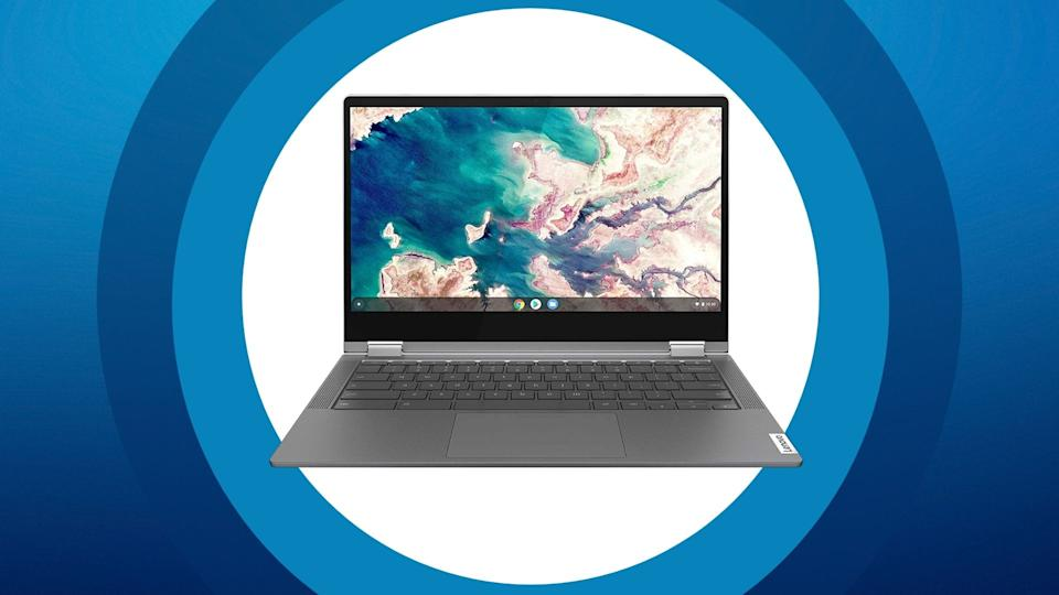 """The Lenovo Chromebook Flex 5 13"""" Laptop with touch display is on sale for Black Friday through Amazon, $470 (originally $539)."""