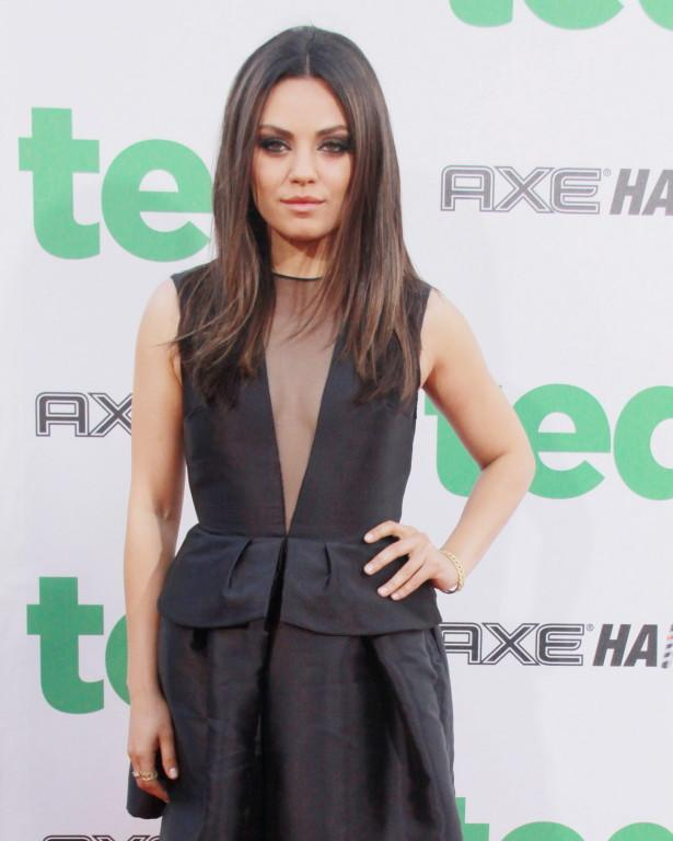 Mila Kunis attending the premiere of 'Ted' at Grauman's Chinese Theatre