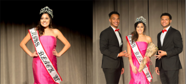 Rachel Malonson's win as Miss Black University of Texas prompted controversy on Twitter. (Photo: Twitter/ID_NUPEs)