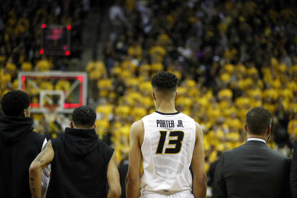 Will Michael Porter Jr. be back in uniform for the SEC tournament? (AP Photo/Jeff Roberson)
