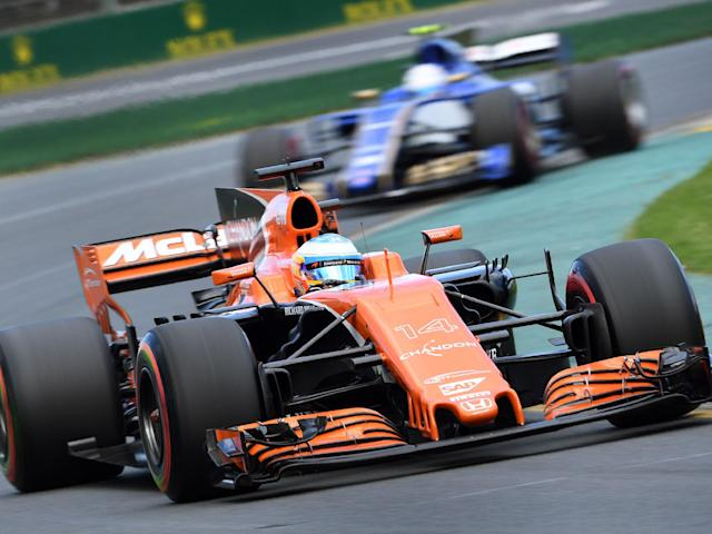 Fernando Alonso qualified 13th but was not happy with where he'll start for the Australian Grand Prix: Getty