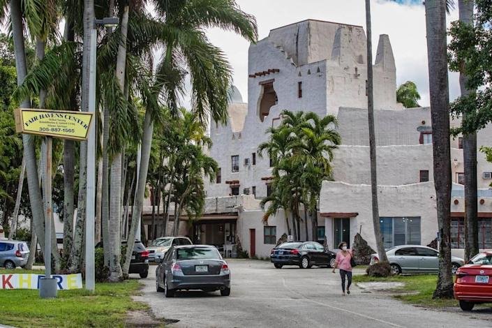 Fair Havens nursing home in Miami Springs, where 52 residents died of COVID-19.