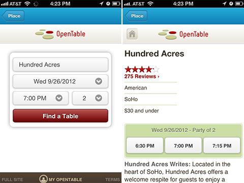 You Can Now Make Restaurant Reservations via Foursquare