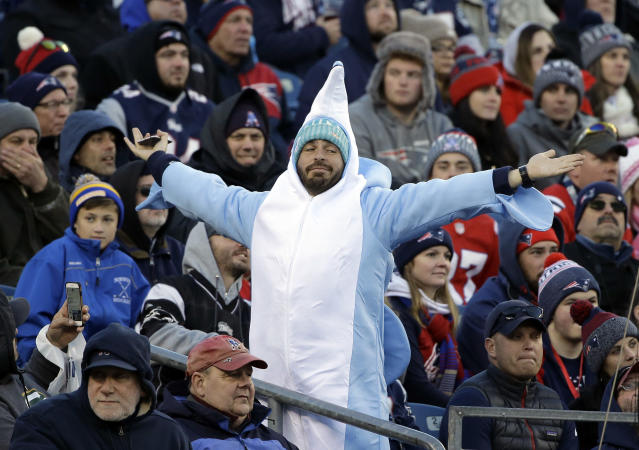 This <span>man</span> aquatic mammal deserves a return to the playoffs. (AP Photo/Steven Senne)
