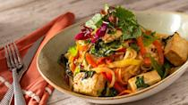 <p>The Jungle Navigation Co. LTD Skipper Canteen is an adventure-inspired outpost that offers Latin, Asian, and African dishes. Their Perkins Thai Noodles pack a punch with tofu, rice noodles, and greens in a spicy soy-chilli-garlic sauce. What a combination! </p>