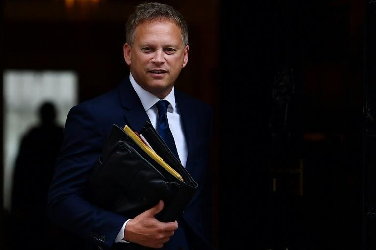 Transport Secretary Grant Shapps refused to blame Brexit, insisting European countries were facing similar shortages of truckers, and the pandemic had meant 30,000 drivers could not be tested (AFP/Ben STANSALL)
