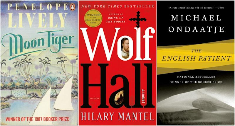 All 51 of the former Booker Prize winners were considered by a panel of five judges
