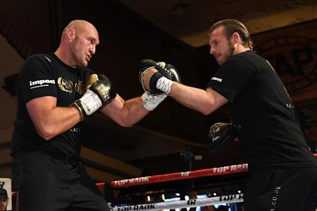 Fury has now split from trainer Ben Davison and linked up with Javan