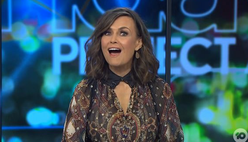lisa wilkinson shocked on the project