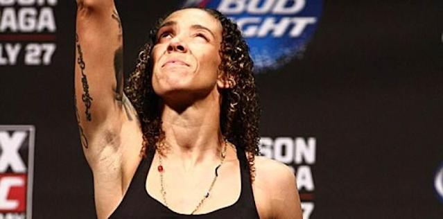 Germaine de Randamie - UFC weigh-in