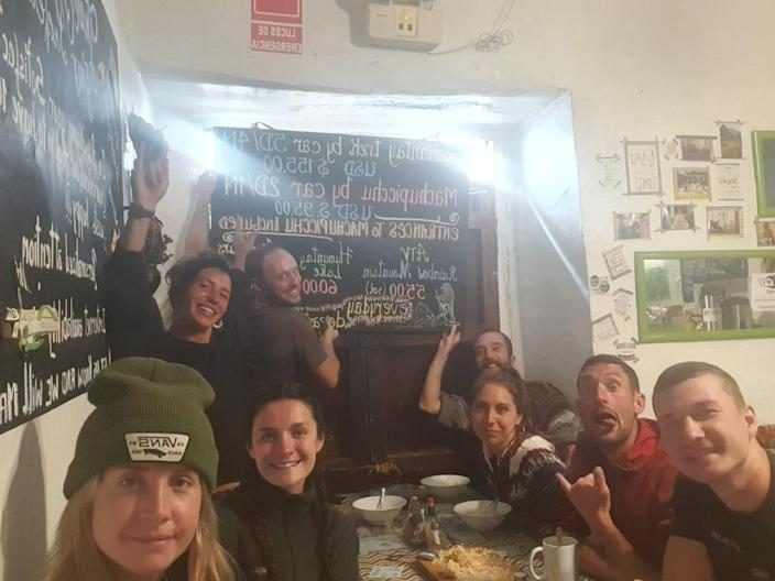 Steff Kidd is isolated in a hostel in Peru . The country has declared a national crisis due to the spread of coronavirus.