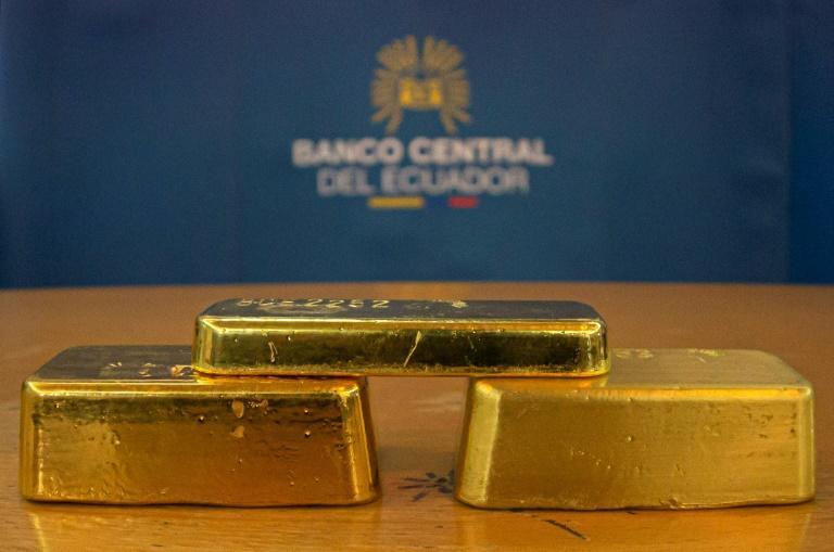 Gold prices surged to $1,689.31 per-ounce, a level last seen in January 2013, as investors seeking safety bought the precious metal amid the market turbulence