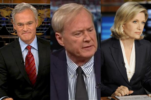 The Most and Least Liked TV Newscasters – From Scott Pelley to Chris Matthews