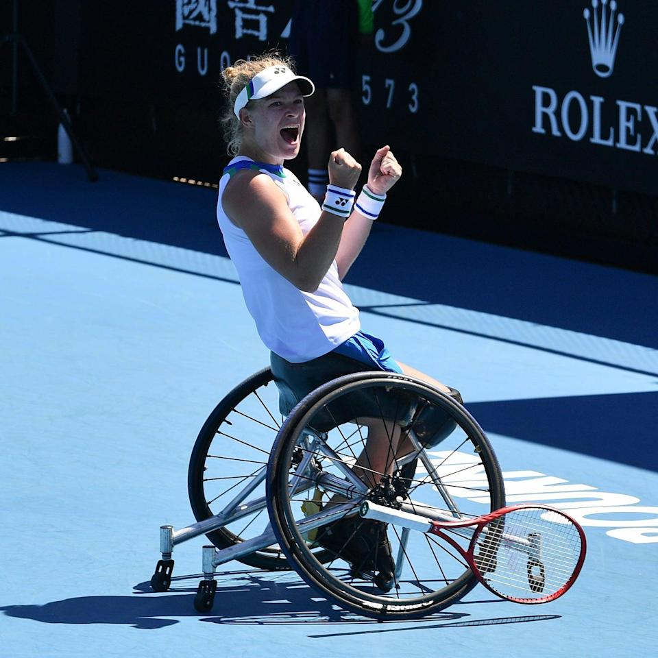 Diede de Groot Just Won Her 3rd Wimbledon Title, and She Could Make Paralympic History