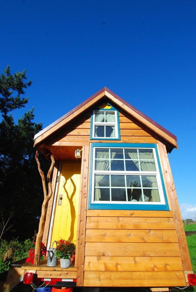 "Aware that people who read about tiny houses are often shocked and even put off by such Lilliputian living, Jenkins stresses the importance of individual design. ""You don't need to live without anything—I know one guy who has a flat-screen TV and Wii in his [tiny] house. Whatever's important to you, you can have."""