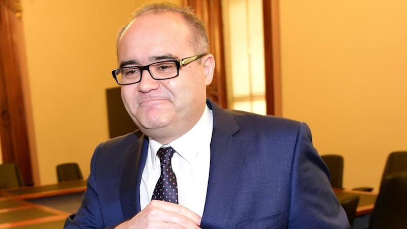 Victorian MP Adem Somyurek is headed for the crossbenches after resigning from the Labor Party