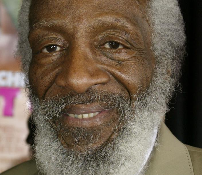 Dick Gregory, comedian and civil rights crusader, died on August 19, 2017. He was 84.