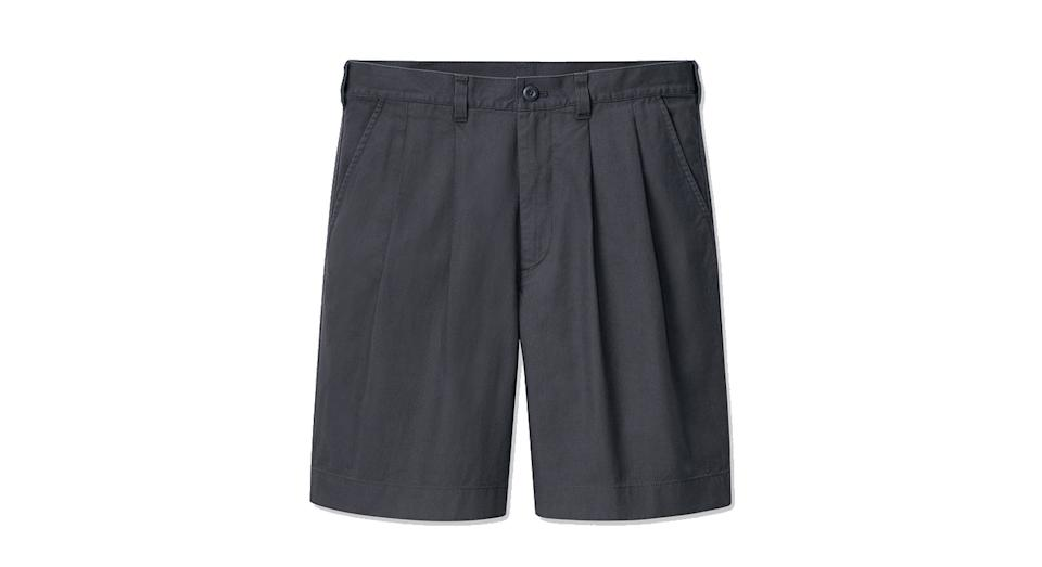 JW ANDERSON PLEATED CHINO SHORTS