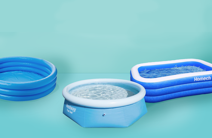 """<p>This summer, as the temperatures rise while many public pools remain closed, it's not hard to understand why so many of us are looking for a quick and <a href=""""https://www.goodhousekeeping.com/health/g28313124/keeping-cool-hacks/"""" rel=""""nofollow noopener"""" target=""""_blank"""" data-ylk=""""slk:easy way to cool off"""" class=""""link rapid-noclick-resp"""">easy way to cool off</a> in our own backyards — and inflatable pools are a great way to chill out while the air conditioning bill in check.</p><p>Unlike in-ground pools, <a href=""""https://www.goodhousekeeping.com/childrens-products/g32674752/best-kiddie-pools/"""" rel=""""nofollow noopener"""" target=""""_blank"""" data-ylk=""""slk:kiddie pools"""" class=""""link rapid-noclick-resp"""">kiddie pools</a> and inflatable pools for adults can be set up in minutes, are easy to store and are <em>way</em> cheaper. But before you invest in a new blow-up swimming pool, take note of these pointers to ensure you have the best possible experience:</p><ul><li><strong>Set up on level ground. </strong>Your inflatable pool should sit on a flat surface to ensure that the entire floor is supported evenly.</li><li><strong>Invest in an air pump.</strong> You'll like need to purchase an <a href=""""https://www.amazon.com/Electric-Inflatables-Mattress-Quick-Black/dp/B07N6D68G8?tag=syn-yahoo-20&ascsubtag=%5Bartid%7C10055.g.33275293%5Bsrc%7Cyahoo-us"""" rel=""""nofollow noopener"""" target=""""_blank"""" data-ylk=""""slk:electric air pump"""" class=""""link rapid-noclick-resp"""">electric air pump</a> separately, as most pool sets won't include one. Look for air pumps with different nozzle attachments so you can use yours to inflate a variety of items in your house.</li><li><strong>Make sure there is adult supervision</strong>. Whether your child is swimming in a pool seven feet deep or wading in a small, shallow version suitable for toddlers, know that it's possible to drown in just a few inches of water. Rachel Rothman, <a href=""""https://www.goodhousekeeping.com/author/1470/rachel-rothman/"""" rel=""""nofollow noopen"""