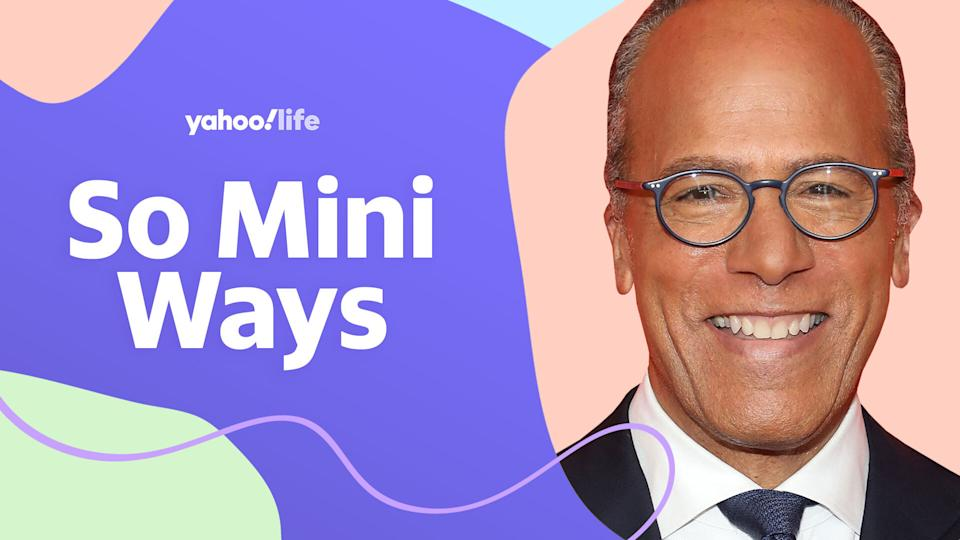Lester Holt on being a
