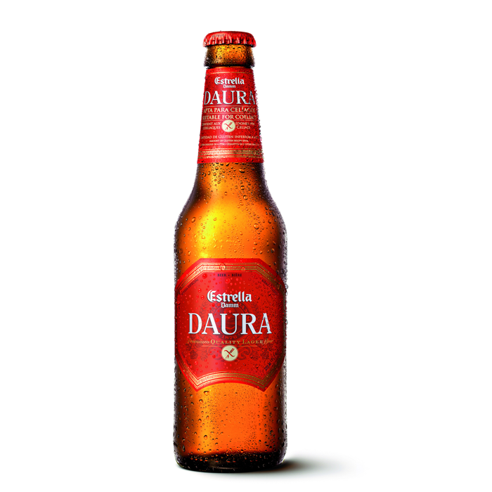 <p>This beer is actually made with barley malt, but the Spanish brewery uses a process to remove the gluten before bottling—which means Daura tastes as close to a malty beer as any celiac can get. In fact, this beer won the Superior Taste Award of the International Taste & Quality Institute of Brussels three years in a row. With an aroma of sweet, toasted grains and a nice bitter kick, we agree with those judges on this one.</p>