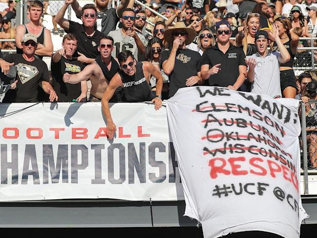 "<p>A precedent was set in college football on Sunday: More than half of FBS teams are ineligible for the playoff.</p><p>No one announced this, but the College Football Playoff committee might as well have when it ranked 12–0 UCF, the American Athletic Conference champion, No. 10. The only remaining undefeated team in the country, the Knights were coming off two straight wins over ranked teams, and as all of college football fervently debated which flawed traditional power—Ohio State or Alabama—might get in, the team wrapping a perfect season was all but ignored.</p><p>It's not a good look for a sport that claimed its new playoff system, now in its fourth year, would be a progressive move.</p><p>This year marked what could have been a turning point for the playoff. After Saturday's championship games, three spots were set in stone—Clemson, Oklahoma and Georgia, all bona fide contenders. But after that consensus top three, things looked murky. Even two-loss USC, left for dead after getting blown out by Notre Dame in October, seemed to be in the conversation. For the first time in the playoff's history, the bracket was unsettled not because there were too many qualified teams, but because there might just have been too few.</p><p>It was an opportunity for the playoff to do something different. Instead, it made the most predictable move possible: It picked Alabama.</p><p>By now, you know what UCF accomplished this season. Or maybe you don't. Given the current state of affairs, that seems like a possibility. So to refresh: Going into 2017, the Knights were not picked as the eventual AAC champion by a single media member in the conference's preseason poll. Two years removed from going winless, they'd made a bowl in 2016 and seemed to be poised for a good season. Instead, they were great.</p><p>Playing in a conference whose commissioner advocates the league as a member of the country's ""Power Six"", UCF beat two ranked teams in 2017: USF and Memphis. The Knights scheduled a tough nonconference slate, with games against the ACC (Georgia Tech, which was canceled during Hurricane Irma) and Big Ten (Maryland, which UCF beat, 38–10), and though it couldn't combat the fact that it plays in a division with the likes of Cincinnati, East Carolina and UConn, it made the most of the slate it was dealt, throttling those teams by an average of 31.7 points and posting a season-long average margin of victory of 23.4.</p><p>That slate makes evaluating UCF next to the top teams in the country tough, but not impossible. No. 6 Wisconsin provides an especially interesting comparison point to the Knights: In two games against Maryland with similar box scores, the Knights (38–10) won by more than the Badgers (38–13) did, and they played the Terps on the road whereas Wisconsin hosted them at Camp Randall Stadium. Still, all UCF could do this year was go undefeated and wallop as many opponents as possible, which is just what they did. And for what? Perhaps if they beat No. 7 Auburn—which went 2–2 against eventual playoff teams this season—in the Peach Bowl, some respect will be due, but probably too little, and definitely too late.</p><p>I spoke with UCF athletics director Danny White—the man who hired former coach Scott Frost and who on Tuesday <a href=""https://www.si.com/college-football/2017/12/05/ucf-hires-josh-heupel-head-coach"" rel=""nofollow noopener"" target=""_blank"" data-ylk=""slk:hired Missouri offensive coordinator Josh Heupel"" class=""link rapid-noclick-resp"">hired Missouri offensive coordinator Josh Heupel</a> to replace Frost three days after Nebraska formally hired him in the afterglow of the AAC title game—last week for a story about perceptions of the playoff four years in. White is not a man who minces words, and his annoyance at the system was not even thinly veiled. White talks a big game, telling media after Frost's departure that the UCF job was ""the most attractive football opening in the nation right now,"" but so far he has been able to back it up. Going into UCF's game against Memphis on Saturday, the athletics director was incredulous that his team was only ranked No. 12 and would all but certainly miss the playoff. He feels as though the committee has consistently under-ranked Group of Five teams, and that other polls have begun following suit.</p><p>In the BCS era, White pointed out, TCU (then in the Mountain West) went 13–0 and finished the season No. 3 in the BCS rankings. Though it wasn't given a spot in the title game, it earned a Rose Bowl berth, and its win over Wisconsin was enough to push it over Oregon to No. 2 in the final AP Poll. Four years earlier, in 2006, an undefeated Boise State team finished No. 5 in the final AP Poll and was the only team besides Florida to receive a vote for No. 1. Since the playoff began, the highest a Group of Five team has been ranked to end the season is No. 15, Western Michigan's finish a year ago when it was undefeated heading into the Fiesta Bowl. (Despite losing to Wisconsin in that game, it finished the year No. 15 in the Jan. 10 AP Poll.)</p><p>White is right; it seems more and more like there's a threshold past which teams outside of the Power 5 not named Notre Dame cannot pass. Western Michigan sowed that seed last season, but its case for inclusion was weaker than UCF's. It didn't play a ranked team all season, and its margin of victory (24.1 points) was still a shade less than the Knights'. What UCF accomplished this year deserved consideration, and if it can't even crack the top six, much less earn a playoff spot, then it's hard to see how a Group of Five team ever can under these conditions. The fact that, say, Rutgers might turn around next season and do what UCF did—by the way, it won't—and get a playoff berth is unfathomable. The line between the bottom of the Power 5 and the top of the Group of Five is finite when it should be fluid.</p><p>The committee's adherence to name brands only perpetuates such things, which is bad for the sport as a whole. If there's a barrier to entry to the playoff, coaches like Frost and P.J. Fleck will never stay and continue to build programs they've grown to love. Why should they? If championships are an impossible goal, no coach will turn down a Power 5 job, and if the committee continues to under-rank Group of Five teams while subtly discouraging top programs from adding them to their nonconference slates, the status quo will become more entrenched.</p><p>Enjoy the playoff. It will no doubt be gripping football, and the product the committee has put on the field has been—with only a couple exceptions—great. But I'm bored, and I'm tired of watching the teams that should be playing in January rather than a team that could be if only everyone broadened their horizons.</p>"
