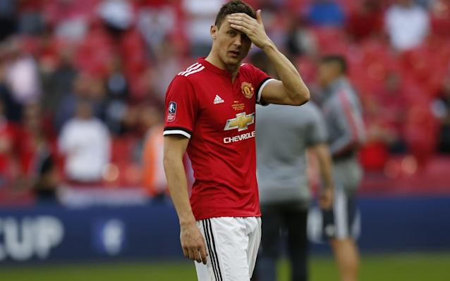 "Nemanja Matic has warned Manchester United need quality signings this summer if they are to challenge for the Premier League and Champions League as the midfielder admitted the club's trophyless campaign has cranked up the pressure for next season. Mourinho ideally wants to bring in five new players this summer but knows the truncated transfer window, which is compounded by the month long World Cup finals in Russia, will reduce the time to complete deals and make acquiring such numbers increasingly difficult. They include two full backs, a centre-half, a midfielder and a winger. The United manager will also be under pressure to offload peripheral players, such as Matteo Darmian and Daley Blind, to accommodate space on the wage bill and avoid a bloated squad. If Marouane Fellaini fails to agree a new contract, Mourinho would be left needing two midfielders following the retirement of Michael Carrick, a scenario which could impact on plans to strengthen elsewhere. Defeat to Chelsea in the FA Cup final at Wembley ensured United finished without a trophy and the prospect of Liverpool winning the Champions League against Real Madrid on Saturday would be another kick in the teeth to Mourinho after a campaign in which he has seen the club's other biggest rival, Manchester City, run away with the title. Pep Guardiola's side amassed a century of points and finished 19 ahead of United, in second. ""I think we need some players with some experience to bring some more qualities to our team,"" Matic said. ""After that, we can fight for the title and the Champions League also."" FA Cup final player ratings Asked if the Chelsea defeat had increased the pressure for next season, the United midfielder added: ""Of course, this is football. When you don't win one year, the next year is always more pressure. When you play for Manchester United, this is a normal thing and we have to accept that and deal with that."" United are working on a deal for Fred, Shakhtar Donetsk's Brazil midfielder, whom City tried to sign in January. City are thought to have now turned their sights to Jorginho, the Napoli and Italy midfielder, which could assist United's pursuit of Fred although Shakhtar want £52.5 million. United have also been linked with left-backs Alex Sandro, of Juventus, and Tottenham's Danny Rose, as well as Spurs defender Toby Alderweireld, Chelsea winger Willian and Real Madrid centre-half Raphael Varane. Nice midfielder Jean Michael Seri has been offered to all the Premier League's top six. However, Mourinho's chequered record in the transfer market since taking over at Old Trafford does not inspire confidence and the manager must address a series of issues within his existing squad. Victor Lindelof has endured an unconvincing debut season since his £30.7 million move from Benfica last summer and was omitted from the FA Cup final squad altogether. United in turmoil puff Another centre-half, Eric Bailly, a £30.4 million recruit from Villarreal in 2016, has been strangely frozen out since returning from a long injury lay-off and has made just five starts since February, despite being widely regarded as the best defender at the club. Team-mates have been left bemused by Bailly's persistent omissions and Mourinho's claims that he was giving more playing time to those defenders who had a chance of going to the World Cup failed to convince some. Left back Luke Shaw has never won Mourinho's trust and his future is shrouded in uncertainty with his career at a crossroads. Paul Pogba's form has plummeted since the turn of the year and it cannot be discounted that Mourinho would consider cashing in on the France midfielder if Paris St-Germain made a huge offer this summer. Anthony Martial's relationship with Mourinho is also strained and Juventus head a queue of clubs, including Spurs, who are interested in signing the France forward. Martial's omission from the France squad for the World Cup may force him to consider his options with the player – a substitute in the Cup final – not getting regular starts. ""I'd like to think he'd stay,"" Paul Scholes, the former United midfielder, said. ""Whether his manager quite fancies him I'm not too sure about at the minute. He's not shown too much confidence in him. Martial's a really good talent. I think he needs a bit of love, he needs an arm around him. Every time he comes on he impresses me. I just hope he's not one of those that leaves and then we see the best of them."" Other changes are also expected behind the scenes with Mourinho due to hire Italian fitness coach Stefano Rapetti from Sampdoria in the wake of Rui Faria's departure as assistant manager. Rapetti worked with Mourinho at Inter Milan. Kieran McKenna, United's Under-18 coach, could also be promoted to the first team set up."