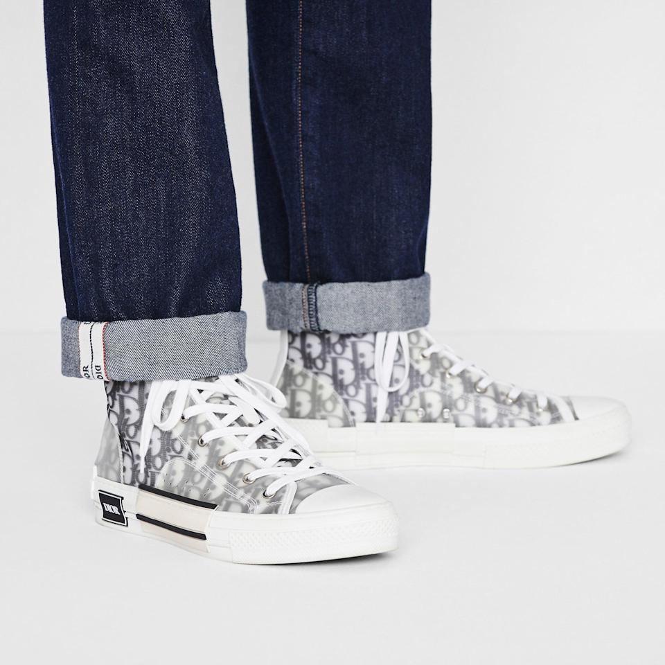 <p>Dior has seen great success with its high-tops. The <span>B23 Sneaker</span> ($1,100) is a prime example, but the Walk'n'dior and D-connect are valuable in their own right, too.</p>