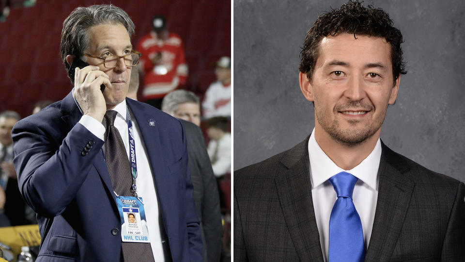 Brendan Shanahan announced on Tuesday that Dusty Imoo will not be joining the organization. (Getty Images)