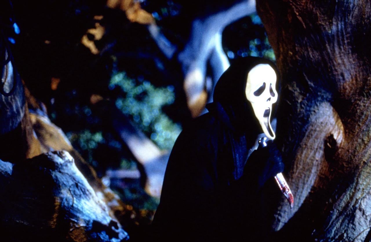 """<p>This inclusion isn't a dunk on the first <strong>Scream</strong> movie, which serves as a fun metacommentary on the horror genre that deals out plenty of grisly surprises - remember the garage scene? But the franchise didn't lose its momentum in <strong>Scream 2</strong>, which is just as delightful (perhaps even wittier and faster paced) as it pokes fun at horror sequels. After coming up against <a href=""""https://www.popsugar.com/smart-living/scream-real-estate-listing-pictures-46709492"""" class=""""ga-track"""" data-ga-category=""""internal click"""" data-ga-label=""""http://www.popsugar.com/smart-living/scream-real-estate-listing-pictures-46709492"""" data-ga-action=""""body text link"""">Ghostface</a>, Sidney and the other survivors are back on another murder mystery trail. </p> <p><product href=""""https://www.shudder.com/movies/watch/scream-2/4a852b03473028aa"""" target=""""_blank"""" class=""""editor-rtfLink ga-track"""" data-ga-category=""""internal click"""" data-ga-label=""""https://www.shudder.com/movies/watch/scream-2/4a852b03473028aa"""" data-ga-action=""""body text link"""">Watch <strong>Scream 2 </strong>on Shudder. </product></p>"""