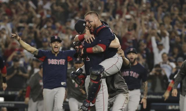 The Boston Red Sox dominated the 2018 baseball season. (AP)