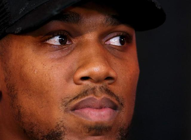 Anthony Joshua has stopped all 20 of his opponents since turning professional in 2013 (AFP Photo/Geoff CADDICK)