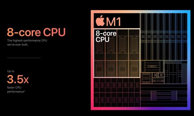 Apple M1 CPU