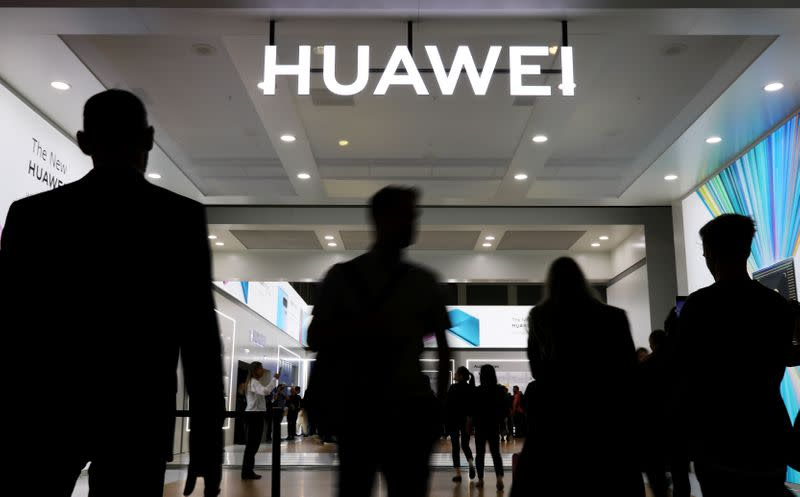 Huawei laments U.S. plans to crimp its global chip supply