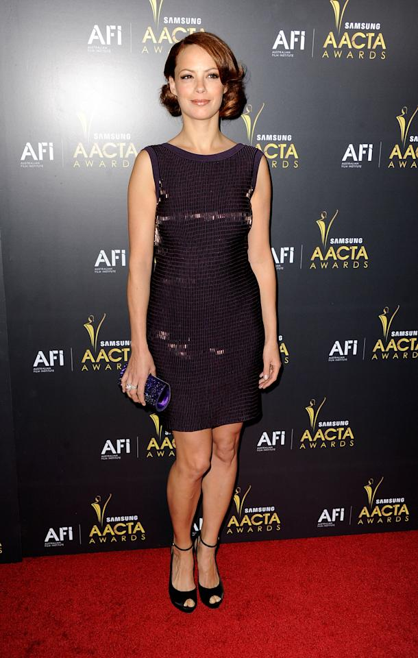 WEST HOLLYWOOD, CA - JANUARY 27:  Actredss Berenice Bejo arrives at the Australian Academy Of Cinema And Television Arts' 1st Annual Awards at Soho House on January 27, 2012 in West Hollywood, California.  (Photo by Frazer Harrison/Getty Images)