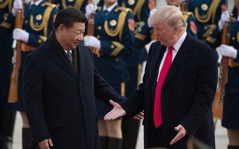 Xi Jinping and Donald Trump - Credit: Getty
