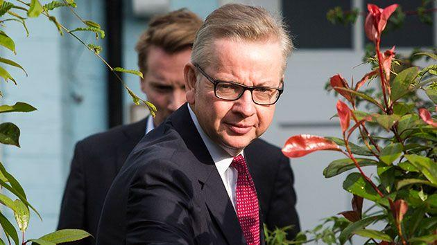 Michael Gove wants to be the next prime minister. Source: Getty.