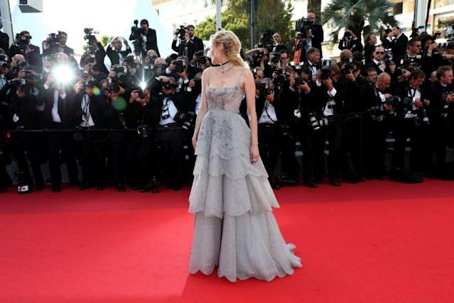 Diane Kruger in Dior in Cannes (Photo: Getty Images)