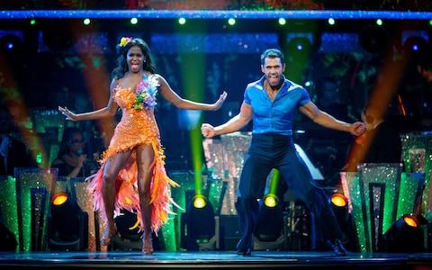 Kelvin and Oti's samba