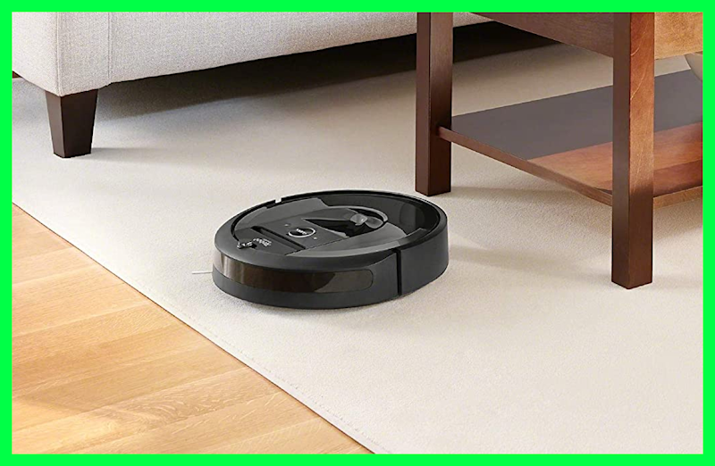 iRobot Roomba i7+ (7550) Robot Vacuum in living room. (Photo: Amazon)