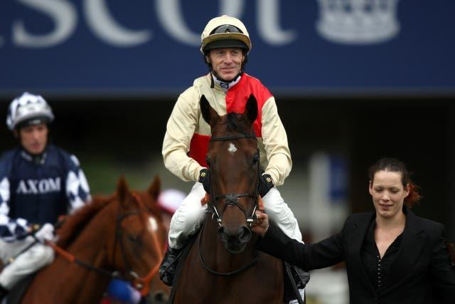 Kieren Fallon was banned from racing for 18 months by France Galop after testing positive for a banned substance in 2007