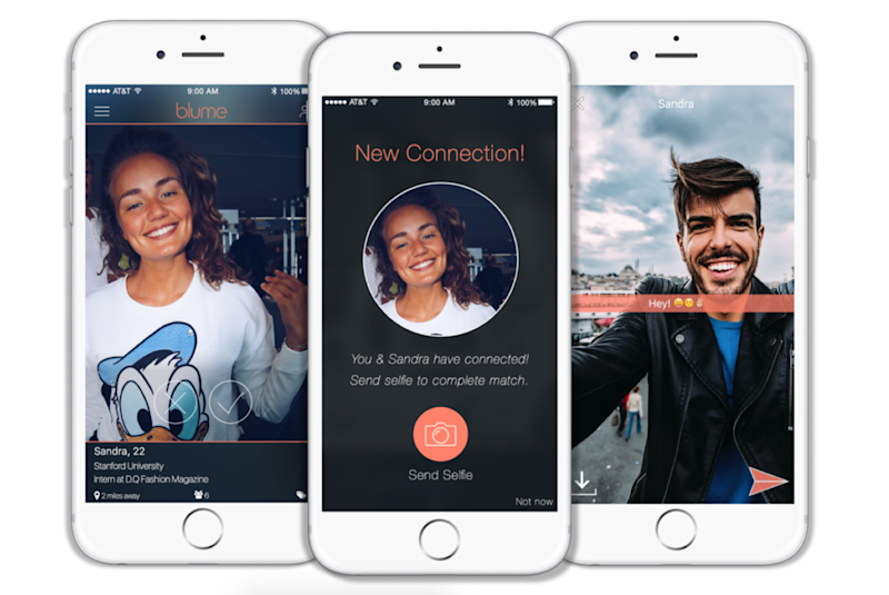 This dating app makes you send a selfie to prevent catfishing