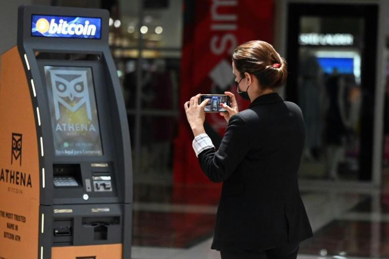 On Thursday, the first bitcoin teller machine was opened in the capital San Salvador, where people can deposit dollars in cash into their bitcoin wallet