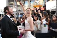 <p><strong>Number of projects together: </strong>4</p><p><strong>Projects: </strong><em>Silver Linings Playbook </em>(2012), <em>American Hustle</em> (2013), <em>Joy</em> (2015), <em>Serena</em> (2014)</p><p>The acting duo must be one another's good luck charm as their movies together earned Lawrence three Academy Award nominations (and one win), and two Oscar noms for Cooper.</p>