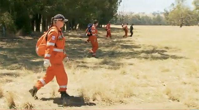 SES rescue crews conducted extensive searches for the body. Picture: 7 News