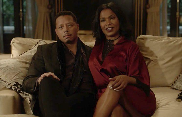 Nia Long shares a scene with Terrence Howard.